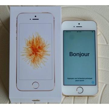 IPHONE SE 128 GB GOLD JAK NOWY IDEALNY POZNAŃ
