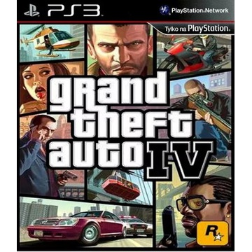 Grand theft auto IV ENG PS3