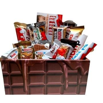 Kinder Box zestaw słodyczy w czekoladowym pudełku