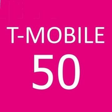 doładowanie t-mobile 50 zł w ciągu godz