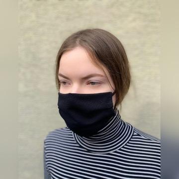 Maska maseczka bawełniana streetwear z filtrem