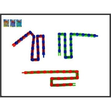 Łańcuch gadżet 27,5cm 3-kolory fidged