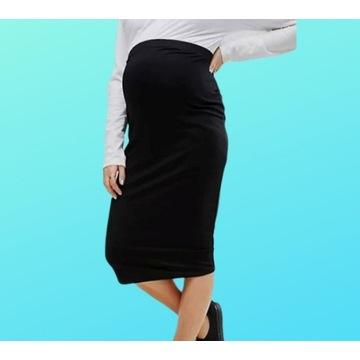 Wąska czarna spódnica ciążowa Next r 40