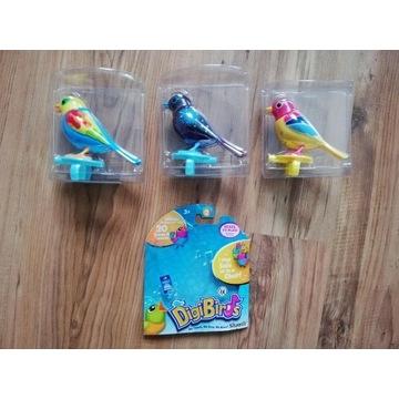 Śpiewające ptaszki - nowe - 3 szt - 60% taniej
