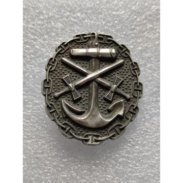 WW1 Odznaka za rany w Marynarce Wojennej 1918
