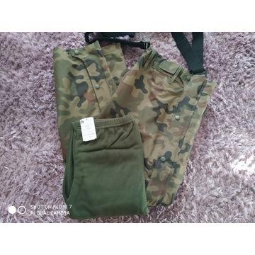 Spodnie gore-tex z ocieplaczem 128/MON