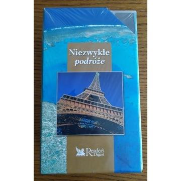 Niezwykłe podróże - kolekcja 3 x VHS NOWE W FOLII!