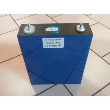 Akumulator Litowy Żelazowy Fosforan 230Ah LiFePO4