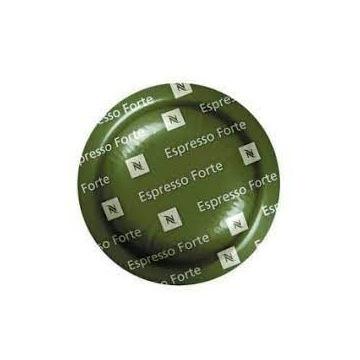 Kapsułki płaskie Nespresso Espresso Forte