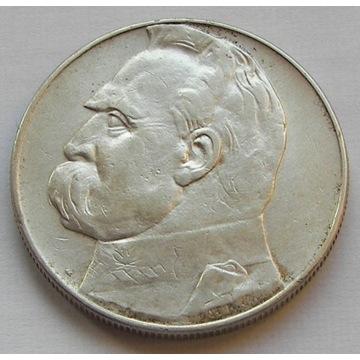 10zł 1935r. J.Piłsudski - srebro