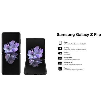 Smartfon Samsung Galaxy Z Flip 8/256 GB czarny