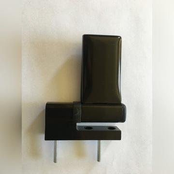 Zawias do drzwi KT-A 15-20mm RAL8077 PVC