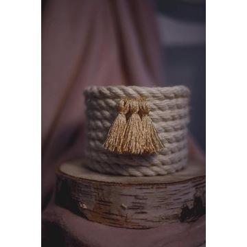koszyk ręcznie robiony