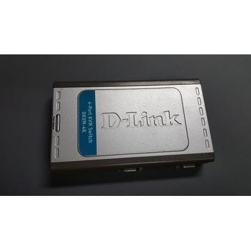 Przełącznik KVM switch D-LINK DKVM-4K 4-port ps/2