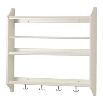 półka kuchenna STENSTORP biała IKEA