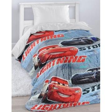 Narzuta na łóżko Cars Disney świecąca140x200 pled