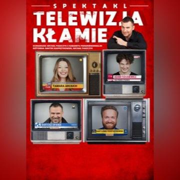 """Teatr """"Telewizja kłamie"""", Opole, 2 bilety"""