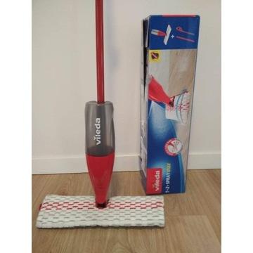 VILEDA mop 1-2 Spray MAX ze spryskiwaczem