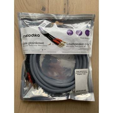 Melodika kable głośnikowe 2x2,5mm MDSC2515G 2x1.5m