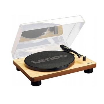 Gramofon Lenco LS-50WD brązowy