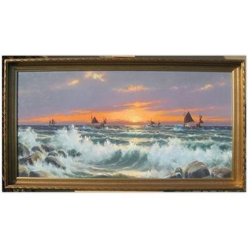 Theodor Skovgaard 1913 O zachodzie słońca