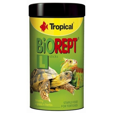 TROPICAL Biorept L 28g/100ml Pokarm dla żółwi