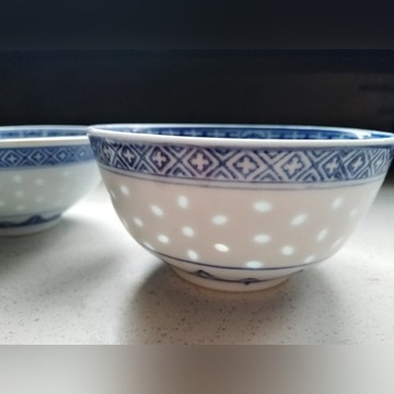 Zestaw chińskiej porcelany 16 części