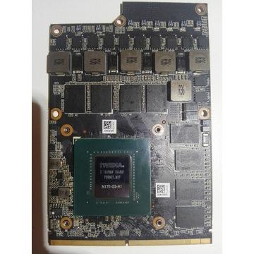 GTX 1080 MXM N17E-G3-A1 USZKODZONY