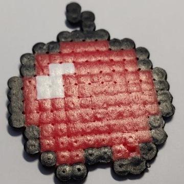 jabłko minecraft brelok