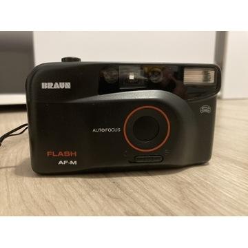 Aparat fotograficzny BRAUN Flash AF-M jak nowy