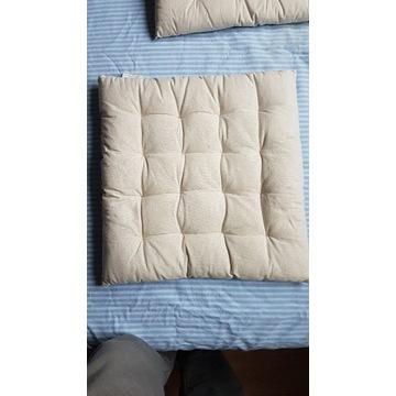 3 poduszki na krzesło bawełniane