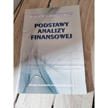 Podstawy analizy finansowej Wiktor Gabrusewicz