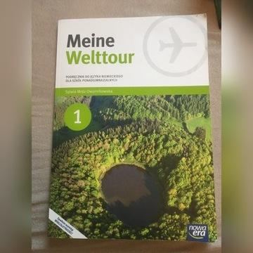 Meine Welttour 1 - podręcznik do J. Niemieckiego