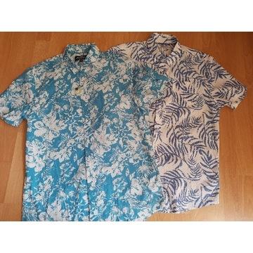 HAMPTON REPUBLIK koszula hawajska rozm.M