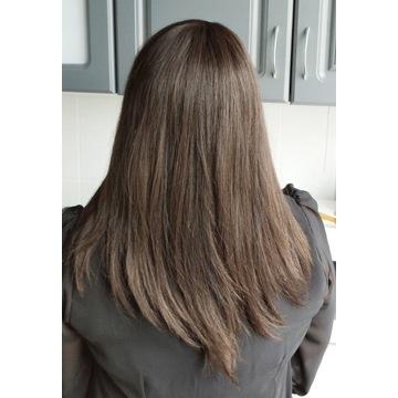 Tupet/ toper/ dopinka włosy naturalne B1