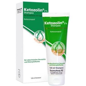 Ketozolin 2% - szampon leczniczy 120ml