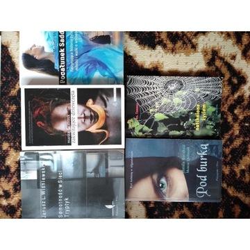 Książki różne, różnych autorów