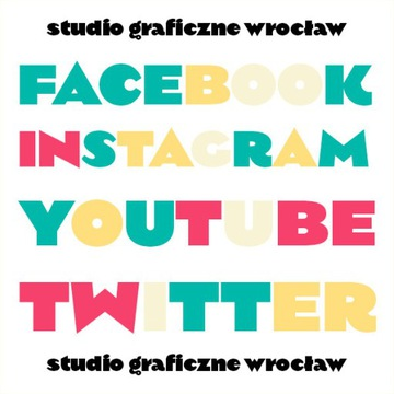 GRAFIKI SOCIAL MEDIA FACEBOOK INSTAGRAM YOUTUBE