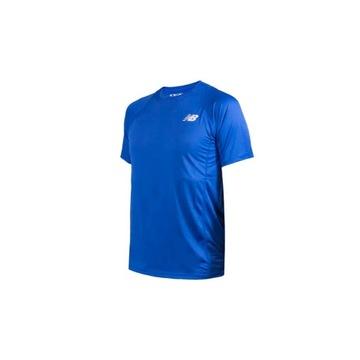 Koszulka New Balance Sport (Niebieski) (rozmiar L)