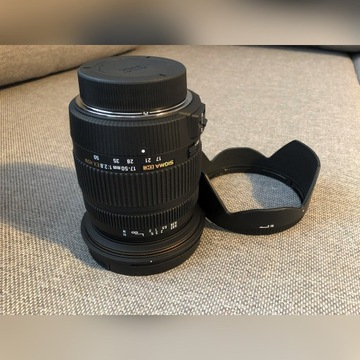 Obiektyw Sigma 17-50 mm f/2.8 EX DC OS HSM Nikon