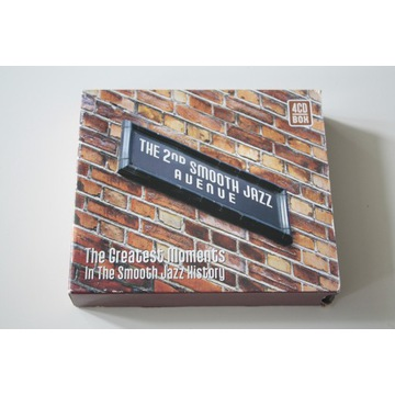 THE 2ND SMOOTH JAZZ AVENUE- GREATEST MOMENTS -4 CD