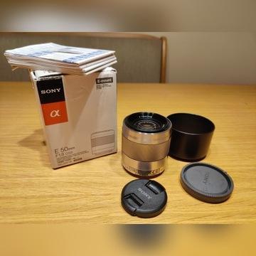 Obiektyw Sony 50mm 1.8F OSS SEL50F1.8