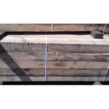Drewno bale Dąb podwaliny kantówki słupy  20x20