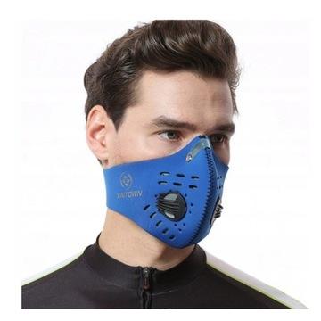 Maska ochronna Antywirusowa Antysmogowa + 1 FILTR