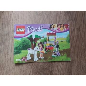 Lego Friends nr 41003 + instrukcja, brak pudełka
