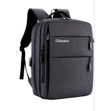 Plecak miejski biznesowy na laptopa GIMARS