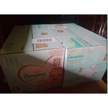 Pampers premium care rozmiar 4 box 104szt x 2