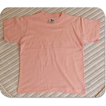 Koszulka ADLER Classic różowy 122cm/6 lat NOWA