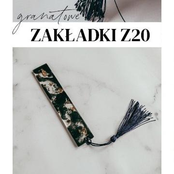 Granatowa zakładka Z20 Holika