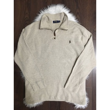Beżowy sweter bluza Polo Ralph Lauren XXL